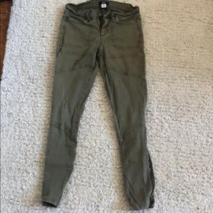 BDG dark green army style pants